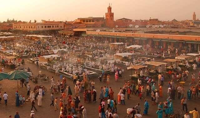 Marrakech, la joya turística de Marruecos