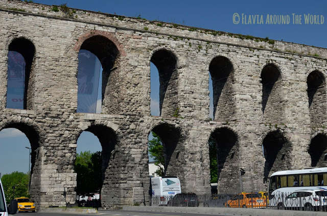 Acueductos, murallas y una iglesia bizantina en Estambul