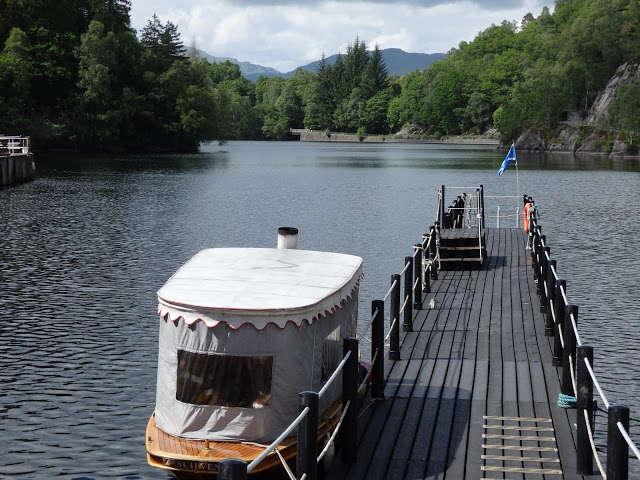El pintoresco lago Katrine