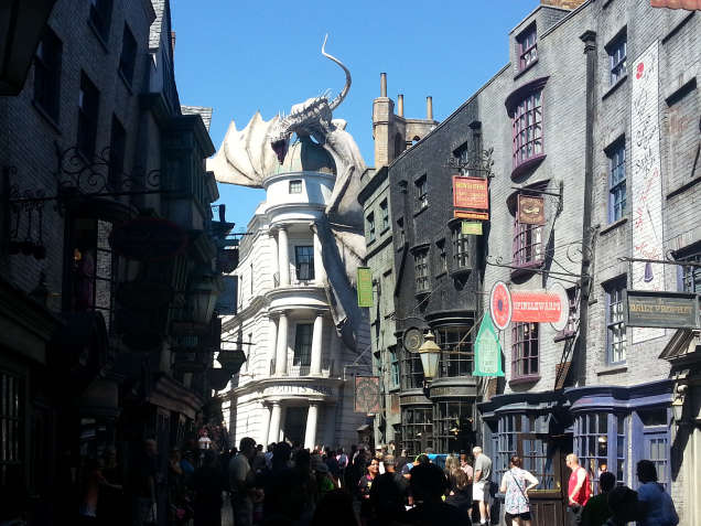 DÍA 8: Universal Studios (Parte I) – El mundo de Harry Potter – Diagon Alley