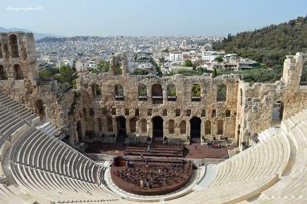 Viaje a Grecia I: Atenas y Delfos