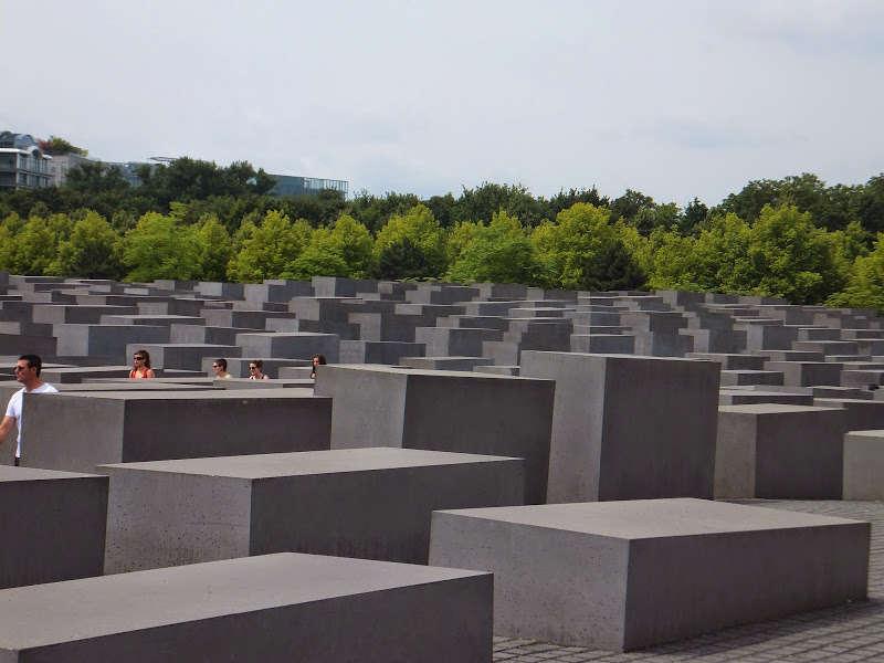 En el corazón de Berlin: el Holocaust-Mahnmal, el memorial del Holocausto