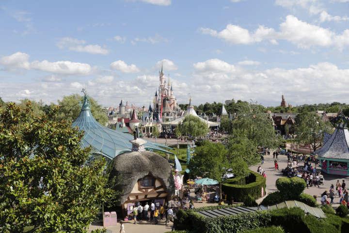 De visita a Disneyland París