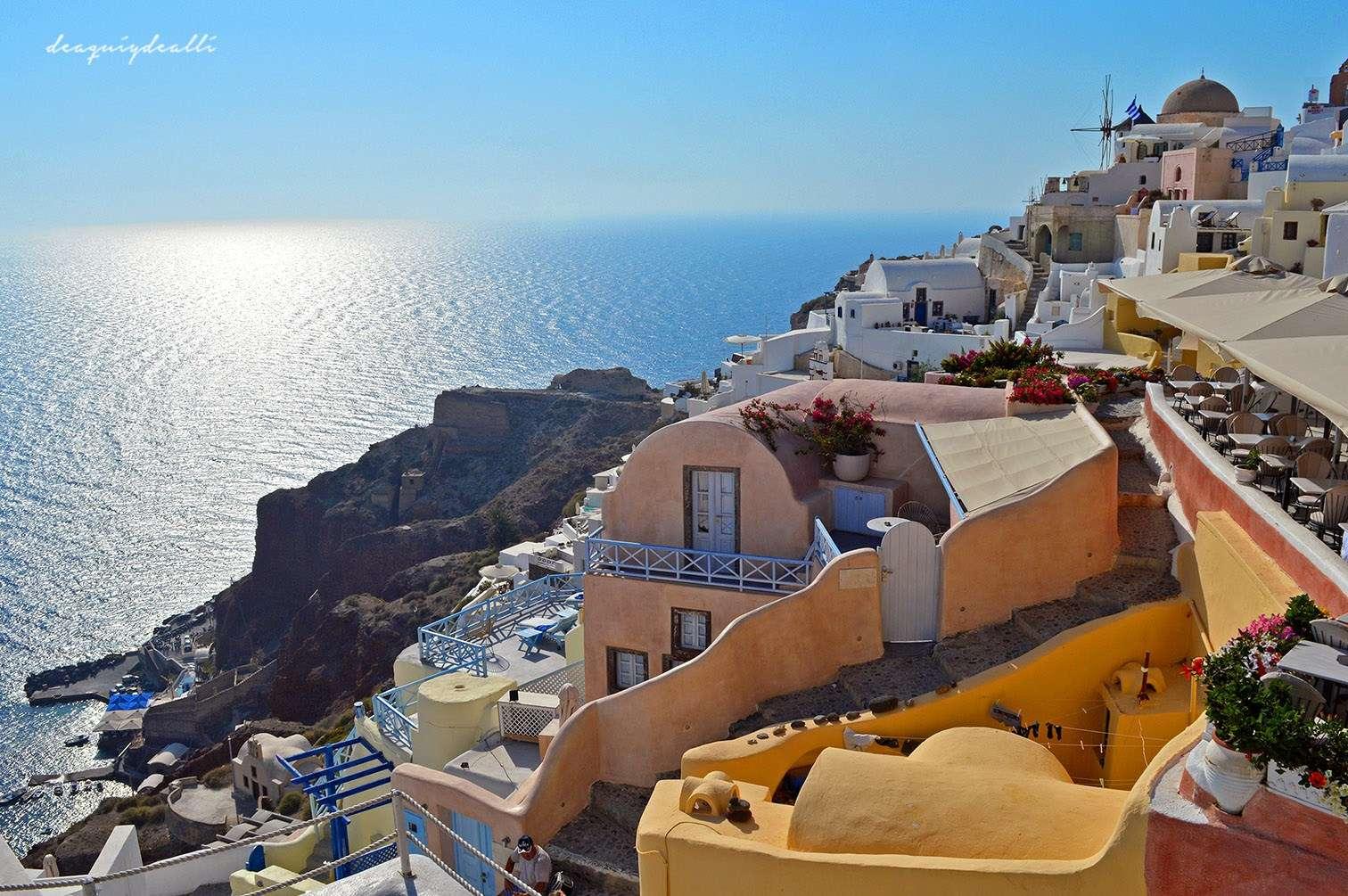 Oia: descubriendo el paraíso en Santorini