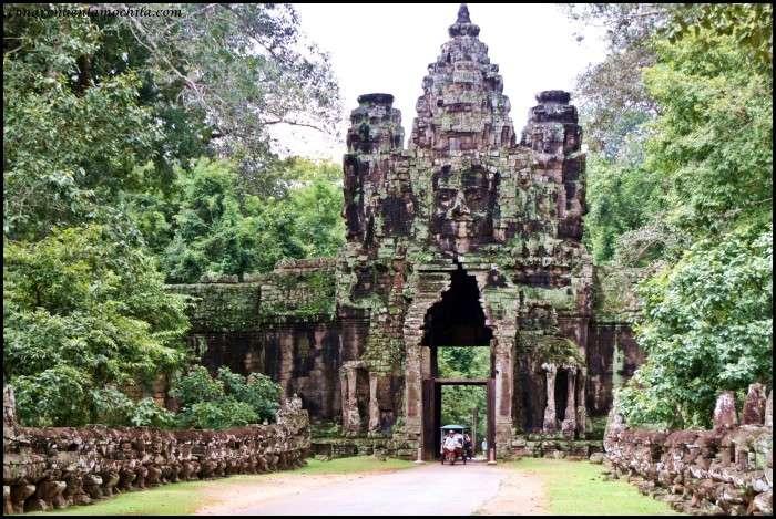 Templos de Angkor, símbolo de Camboya
