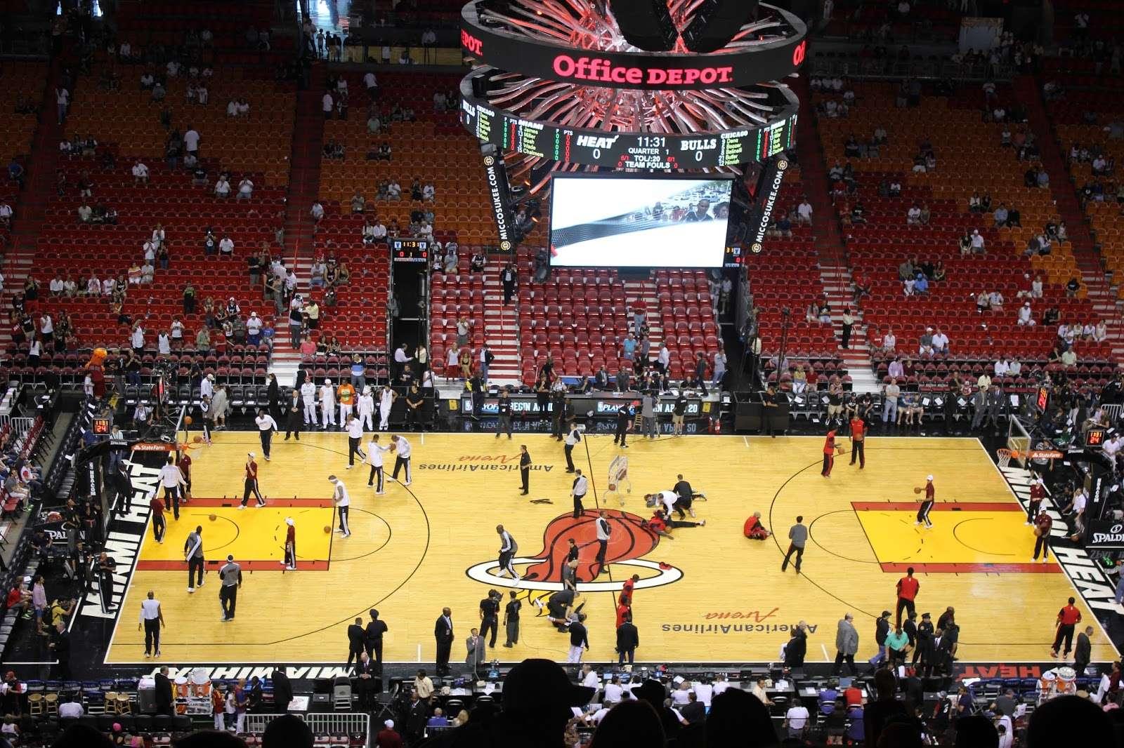 2º Día Miami - Playa y partido de la NBA