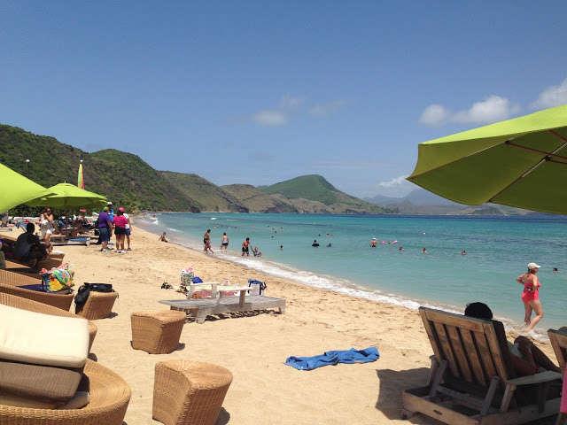 St. Kitts, en las Antillas Menores del Mar Caribe