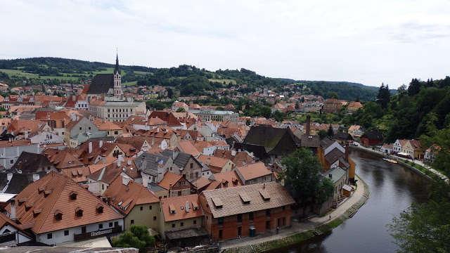 Český Krumlov, la joya medieval de la República Checa