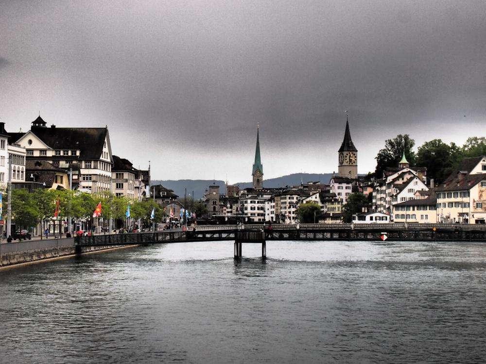 Zúrich, la mayor ciudad de Suiza