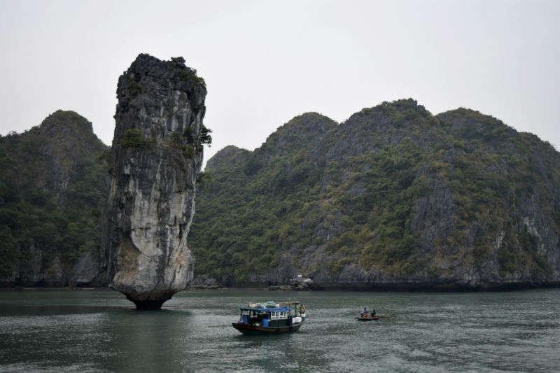 La bahía de Halong y la isla de Cat Ba