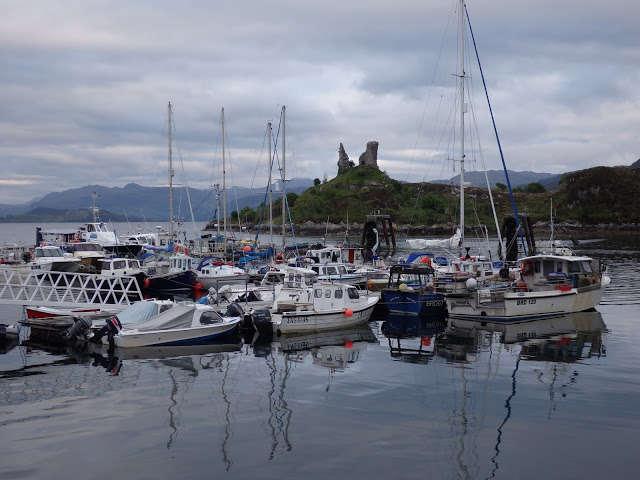 """Kyleakin, """"Puerta de entrada a la isla de Skye"""""""