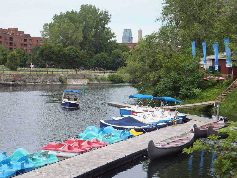 Conocen el Canal-de-Lachine en Montréal?