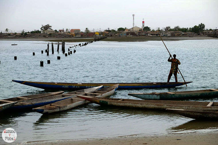 Volviendo hacia la costa atlántica: Joal-Fadiouth