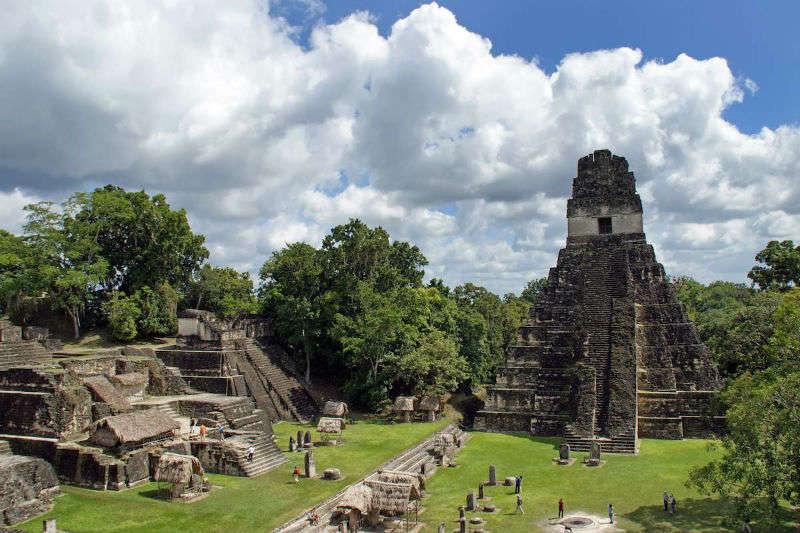 Tikal, cuna del imperio maya en Guatemala