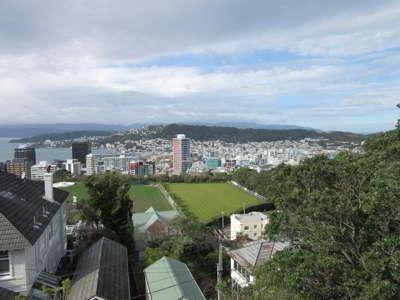 Wellington, llegada a la isla norte de Nueva Zelanda