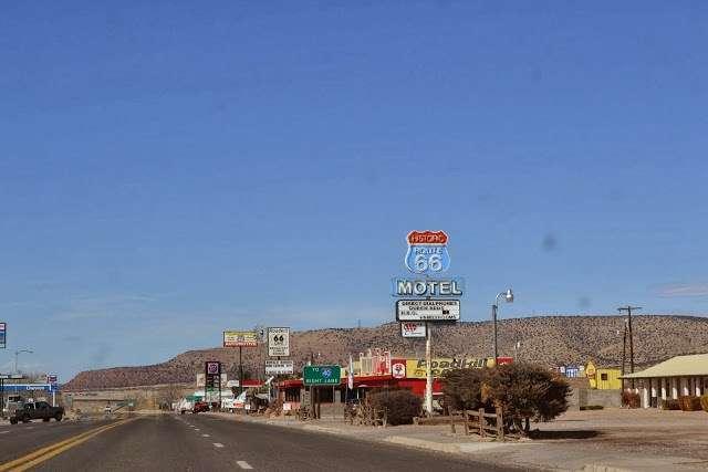 La histórica ruta 66: de Seligman a Kingman