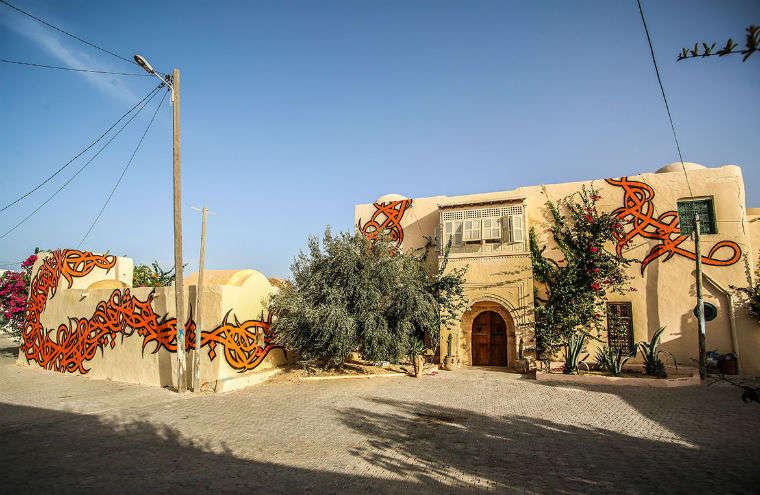 Djerbahood, bella mezcla de tradición y arte moderno