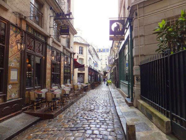 Cour du Commerce Saint-André, o lo que hago cuando llego a París