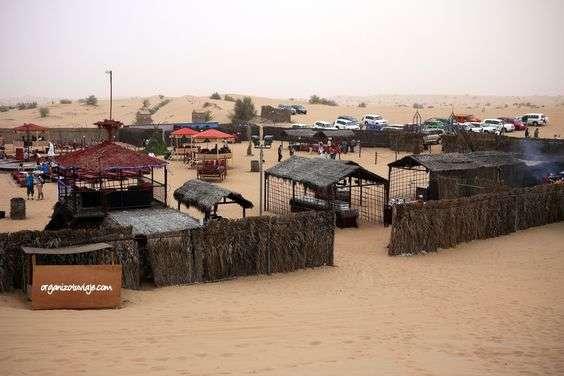 Safari por el desierto con cena y espectáculo en Dubai