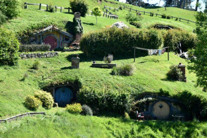 NUEVA ZELANDA: HOBBITON MOVIE SET