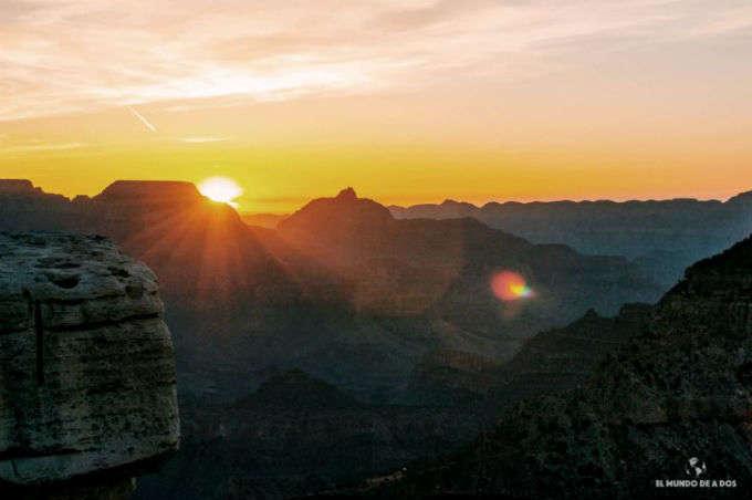Visitar el Gran Cañón en un día (y ver el amanecer más espectacular)