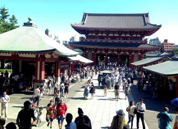 JAPAN TOUR. Día 2 Tokyo – Asakusa (Parte 2/4)