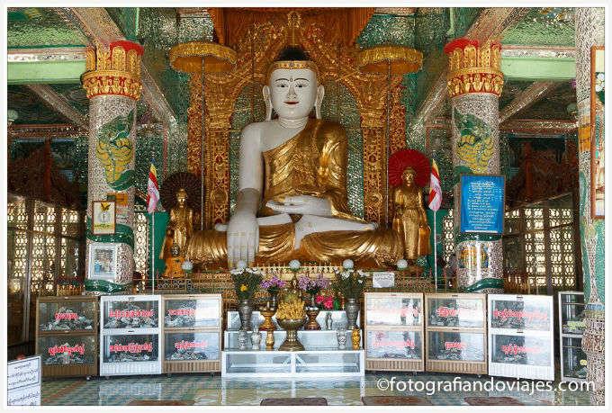 Alrededores de Mandalay: la colina de Sagaing