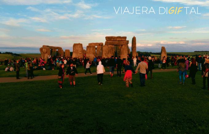 Vivir el solsticio de verano en Stonehenge