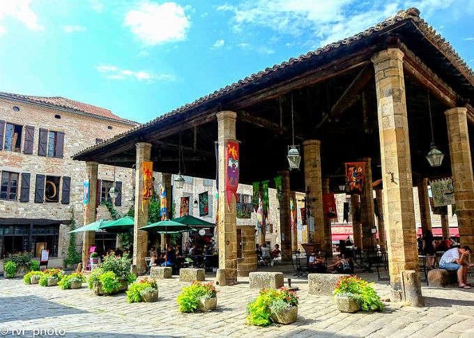 Cordes-Sur-Ciel, un pueblo de comerciantes