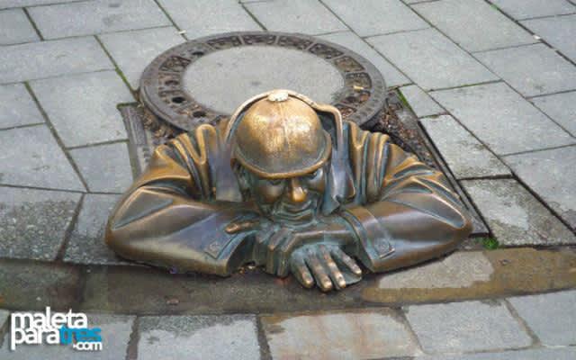 Bratislava y sus estatuas