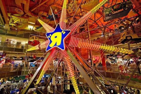 Las tiendas de juguetes más famosas de Nueva York