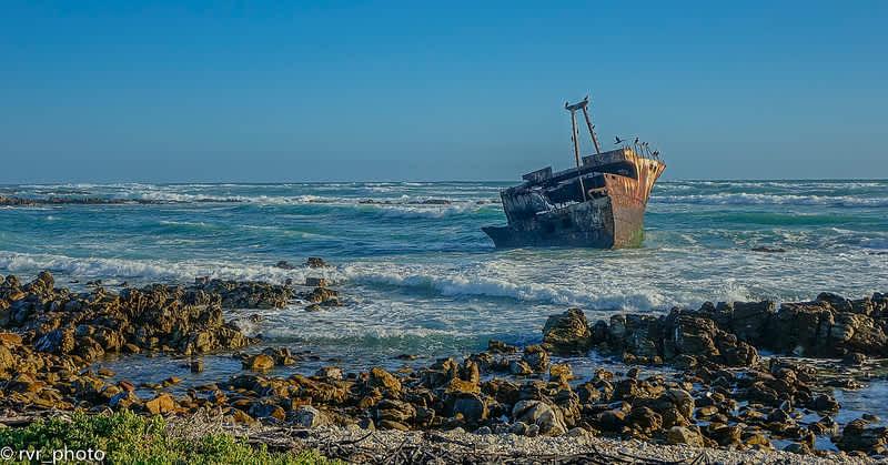 Cabo Agulhas, el cabo más meridional de África