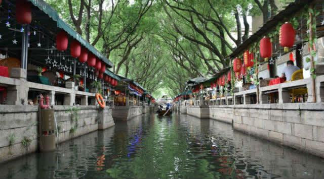 Shangái: pueblo flotante de Tongli y jardines de Suzhou