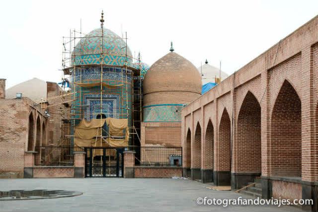 Ardabil y el mausoleo Sheikh Safi al-Din Khanegah