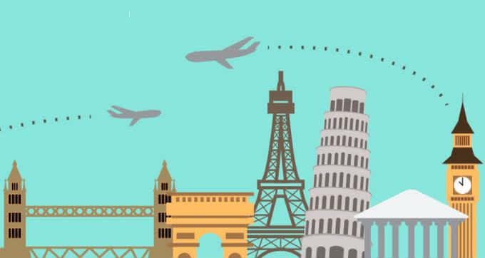 Para recorrer Europa ¿Tren, bus o avión?