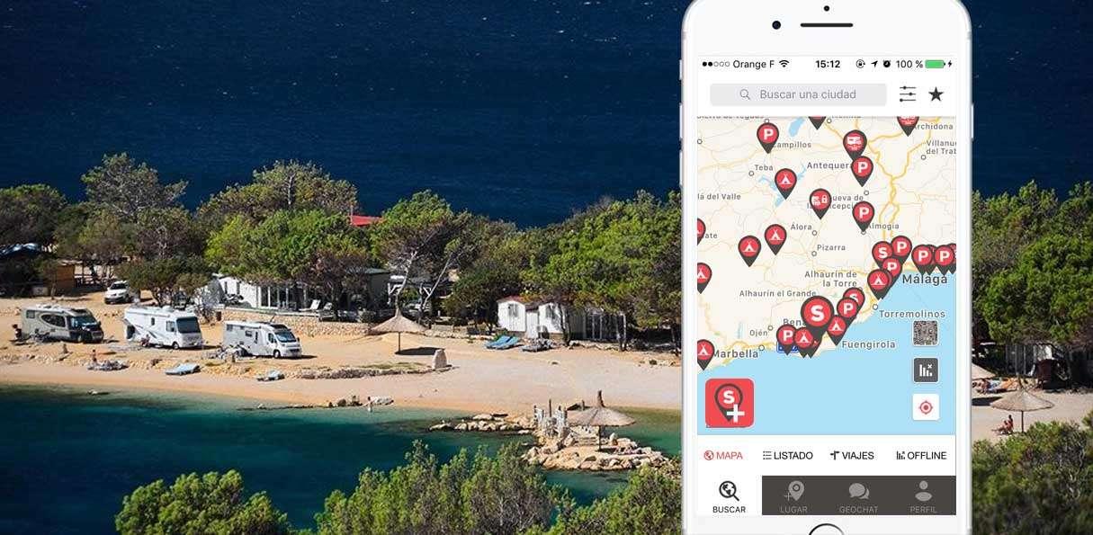 CaraMaps, una aplicación diferente para el viaje en autocaravana