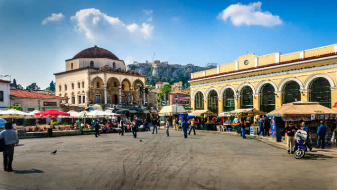 Viaje a Atenas, fusión de arte e historia