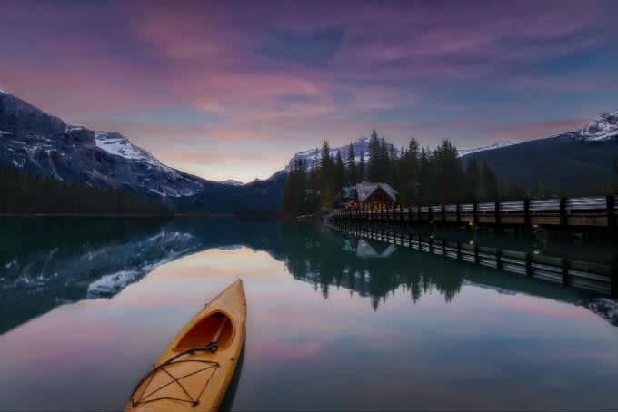 Emerald Lake – El lago más espectacular de las montañas rocosas de Canadá
