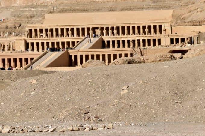 Visitar el Templo de Hatshepsut