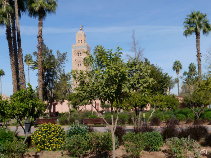 La Medina de Marrakech: monumentos de Marruecos