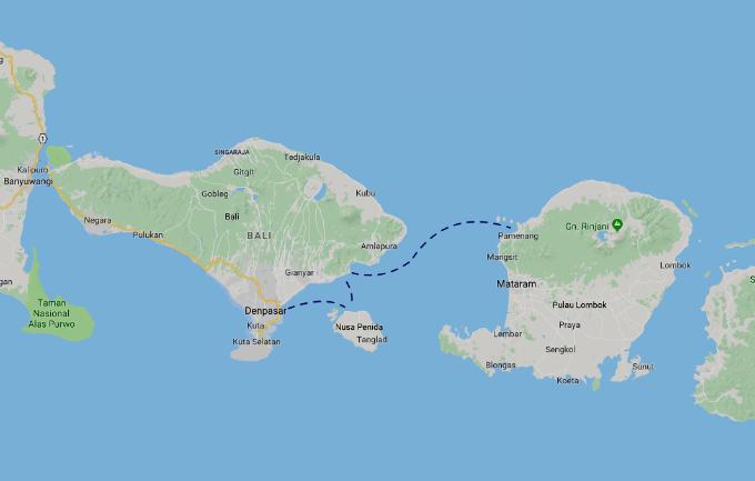 Cómo ir de Bali a las islas Gili.