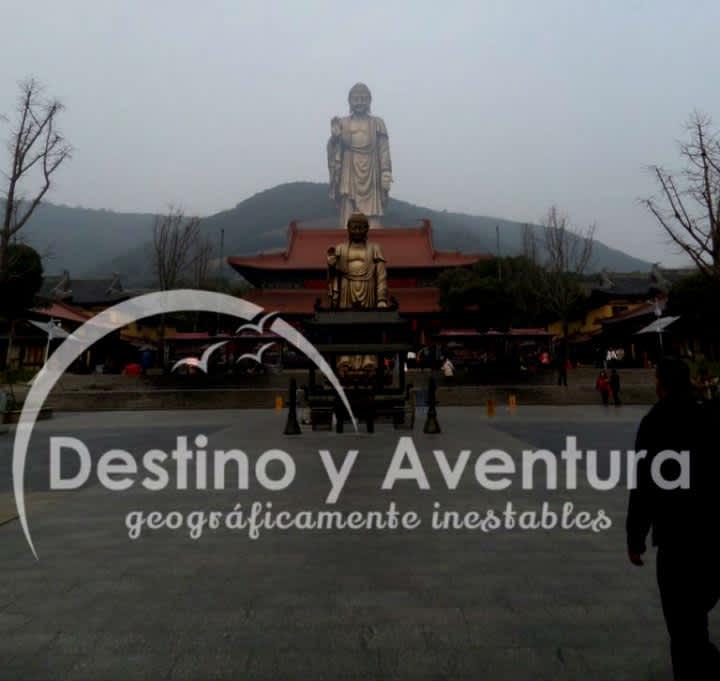 Gran Buda de Ling Shan en Wuxi, China
