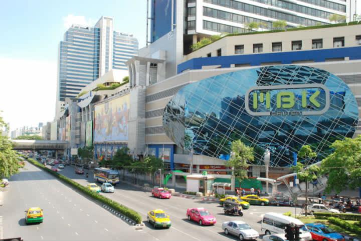 Visitar los centros comerciales de Bangkok