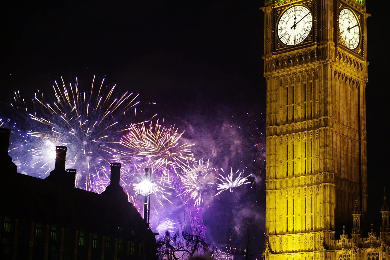 Recibir el Año Nuevo en Londres