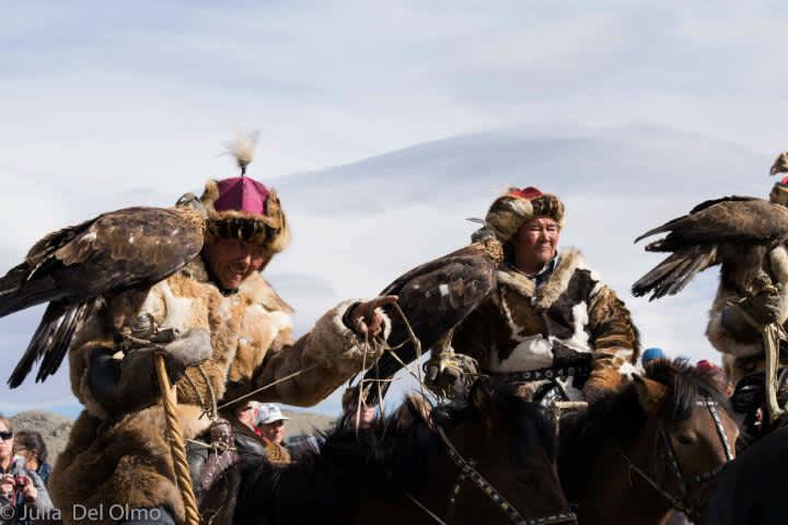 El Festival de las Águilas de Mongolia