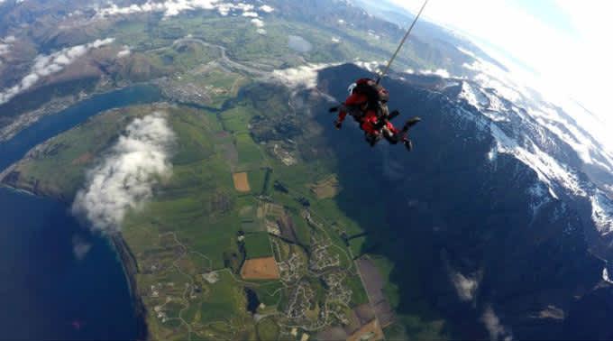 Nueva Zelanda desde el aire: ¡Mi primera vez en paracaídas!