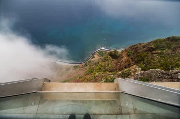 Patas arriba – Cabo Girao