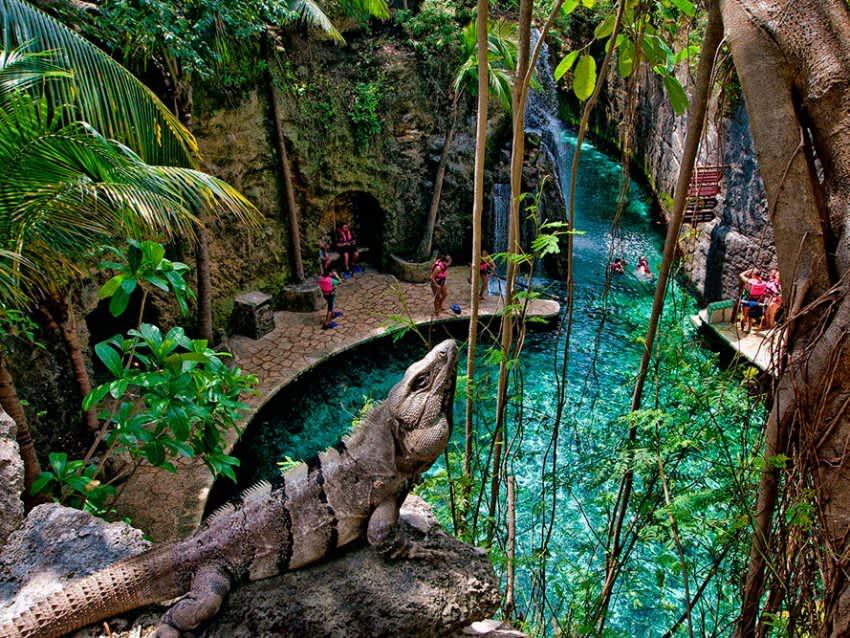 Parque Ecoarqueológico Xcaret: La cuna de la cultura Maya