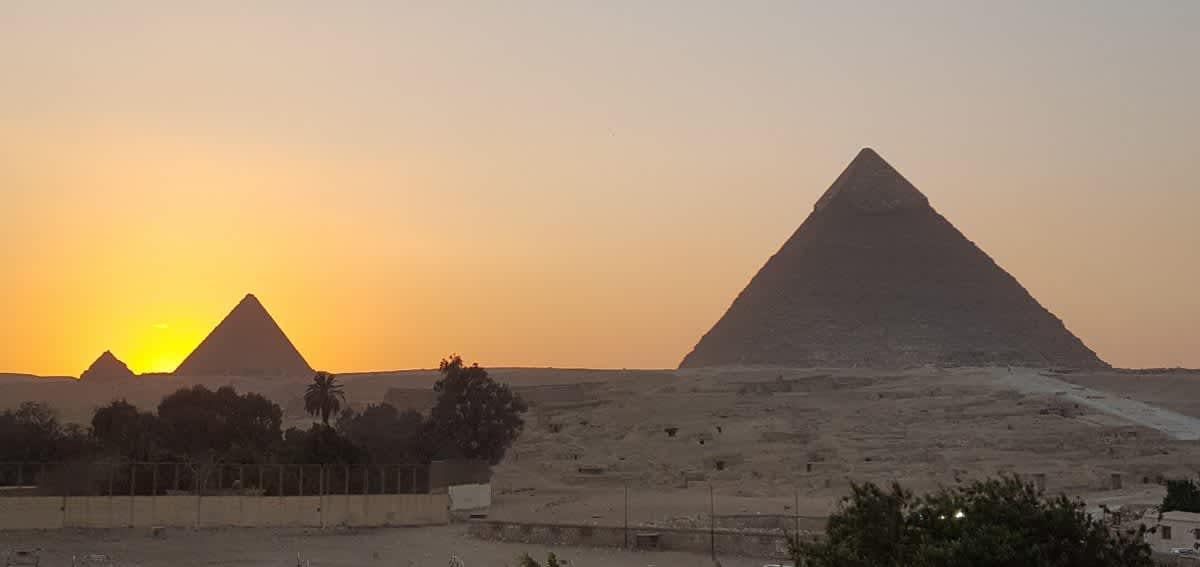 Un día en Giza conociendo las pirámides