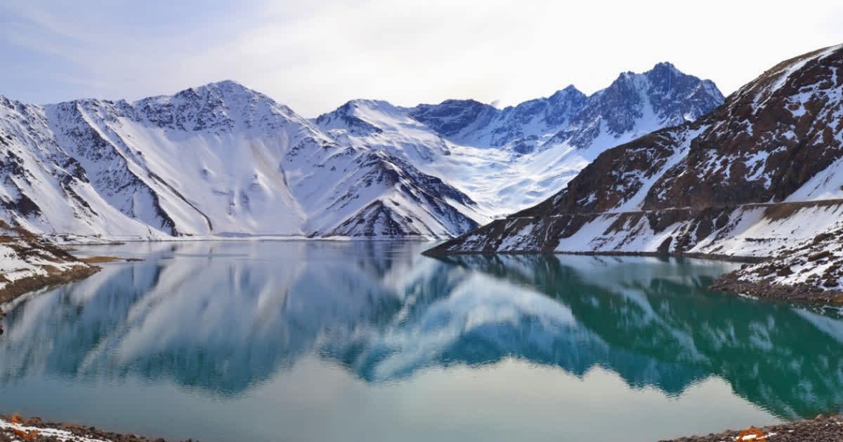 Los impresionantes paisajes del Cajón del Maipo en Chile